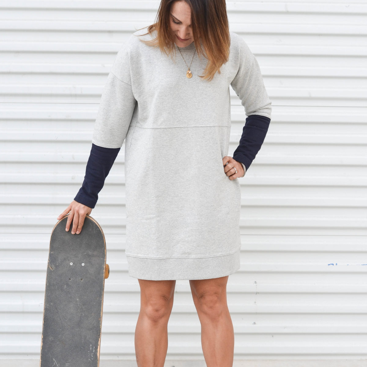 Day to Night Sweatshirt Dress