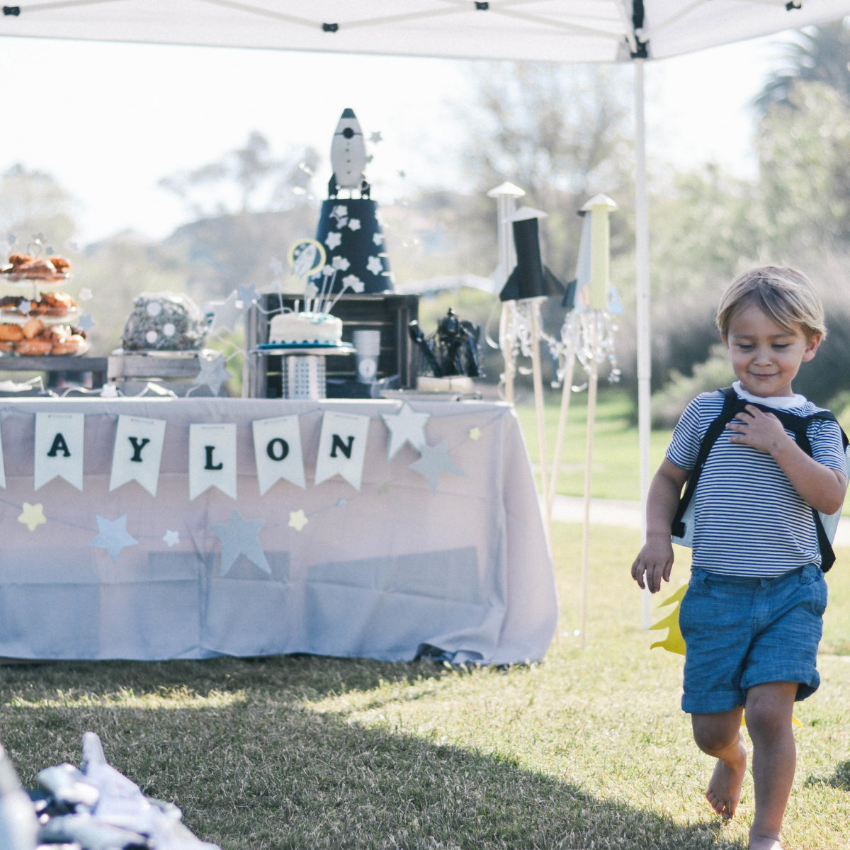 Waylon's 4th Birthday: A Space Themed Party