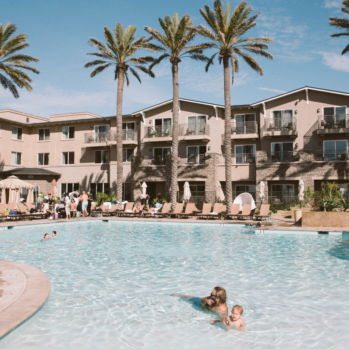 Staycation at Cape Rey Carlsbad Hotel
