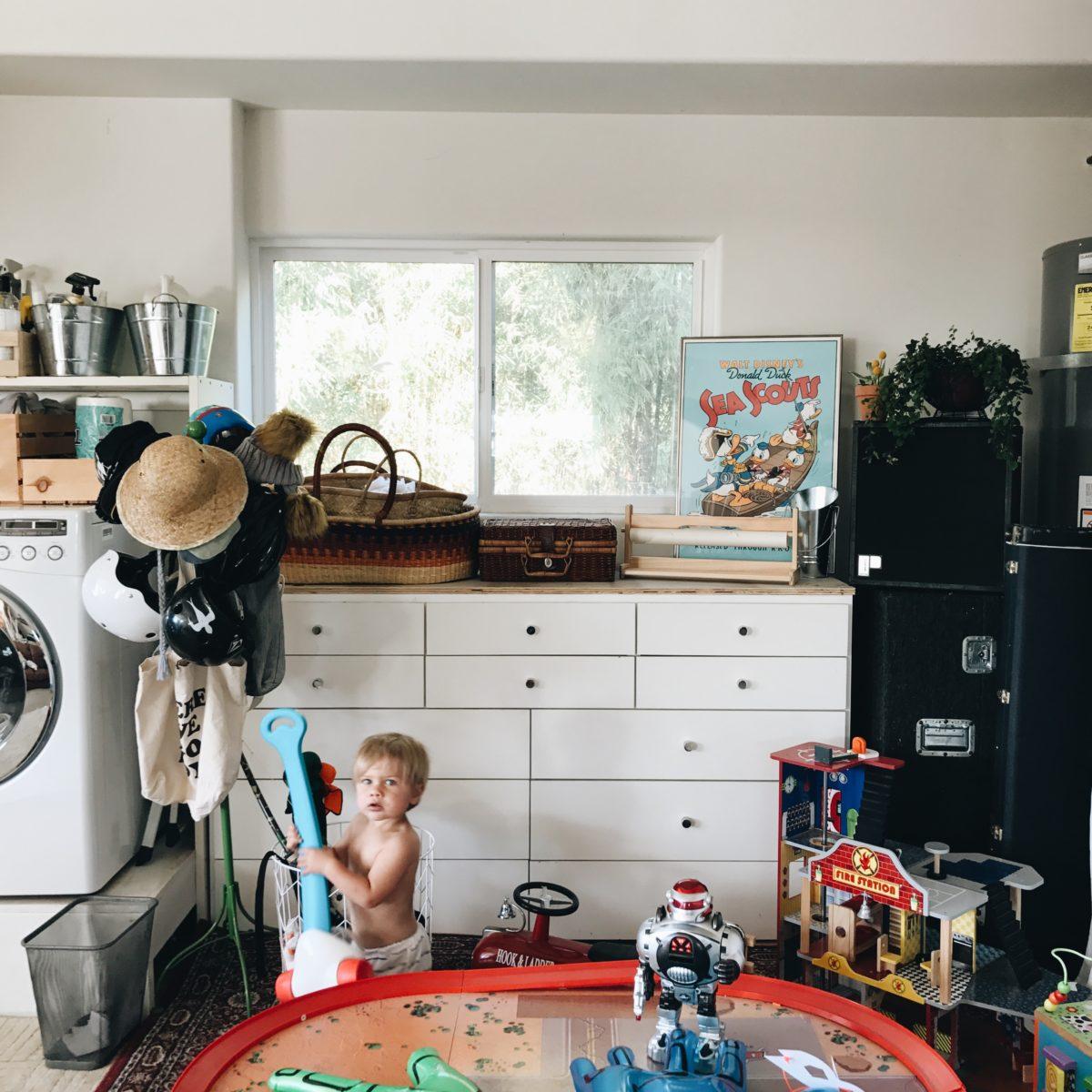 5 steps to an organized garage