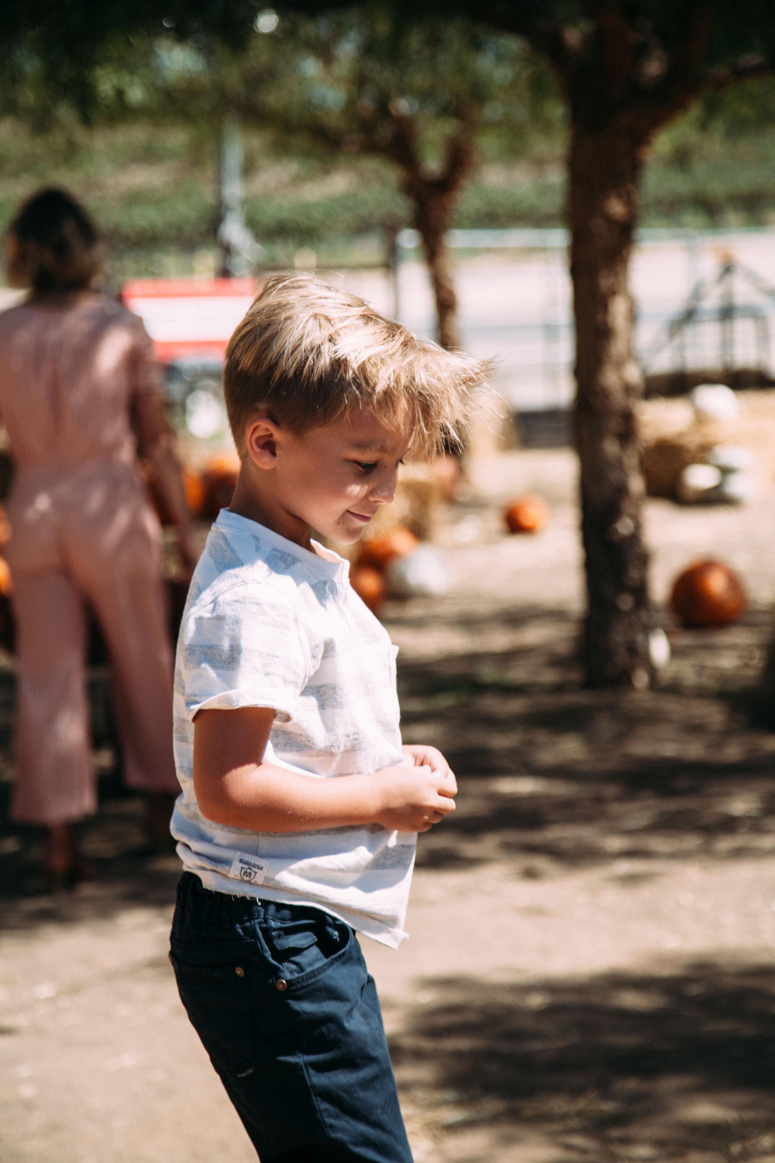 Pumpkin Patching at Peltzer Farms