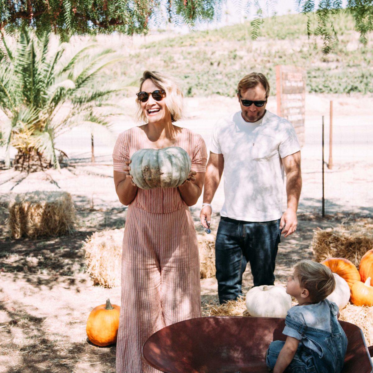 Pumpkin Patching at Peltzer Farm