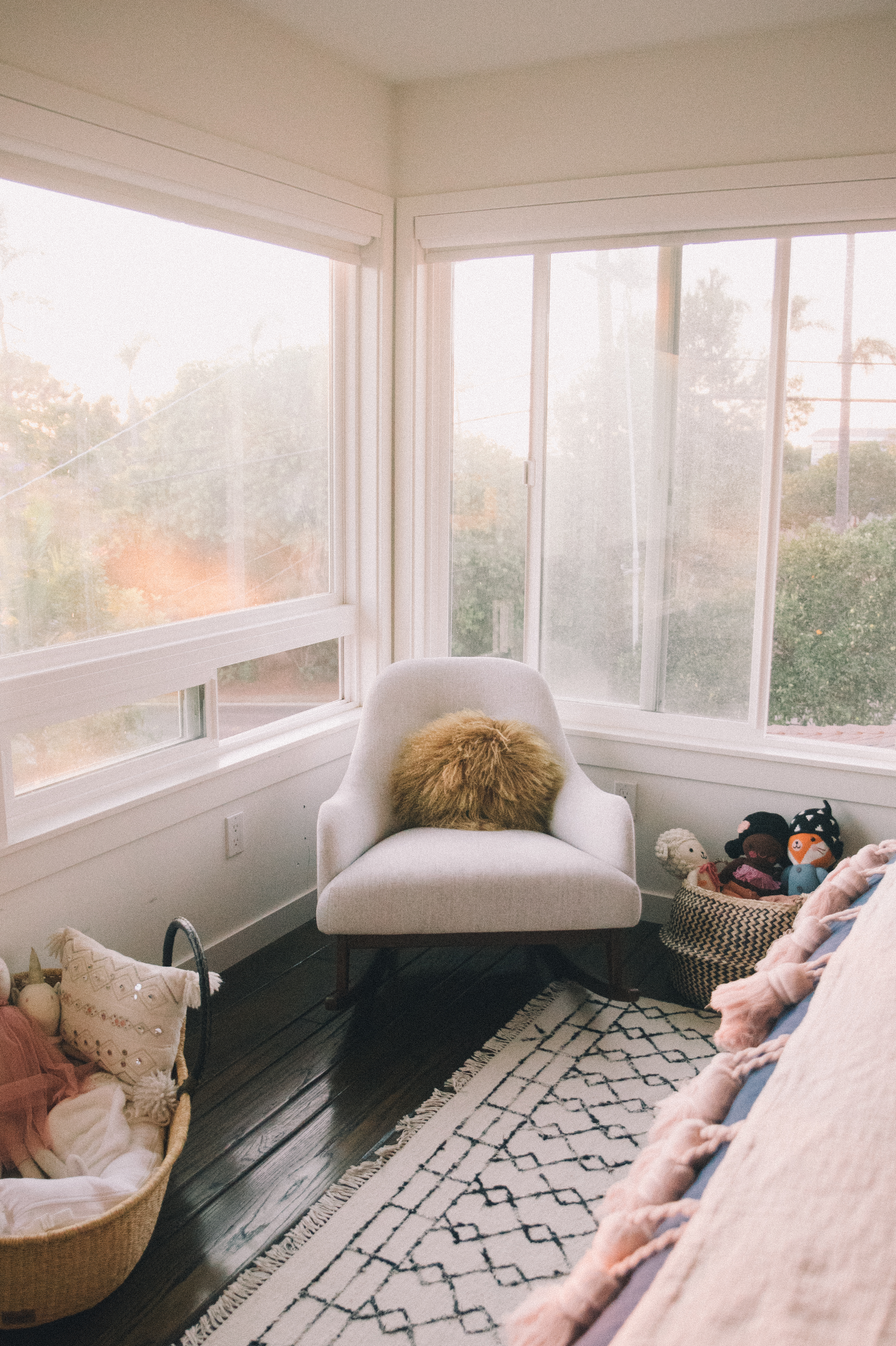 Nursery Tour: How to make the most of a small space