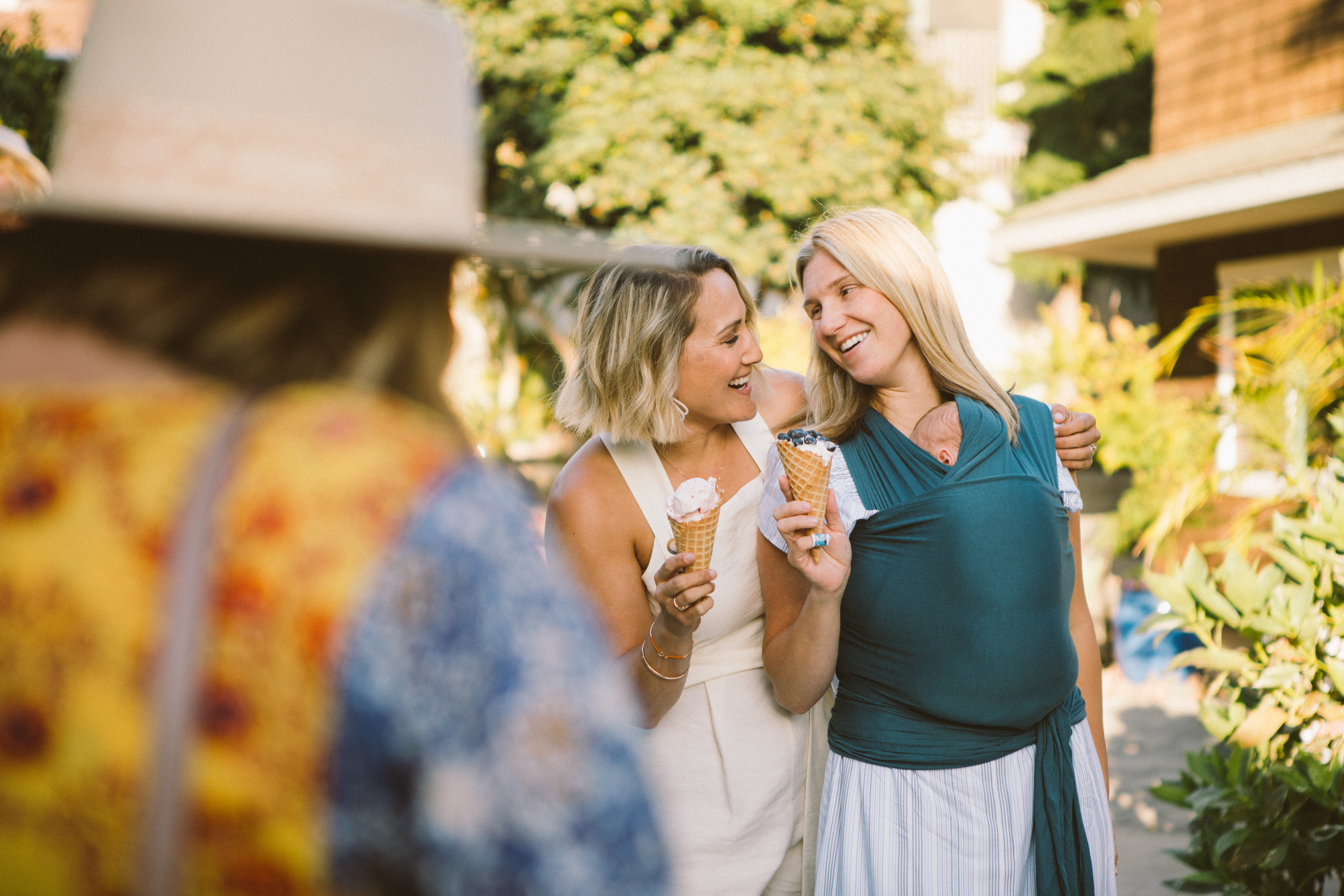 An Ice Cream Garden Party to Empower women
