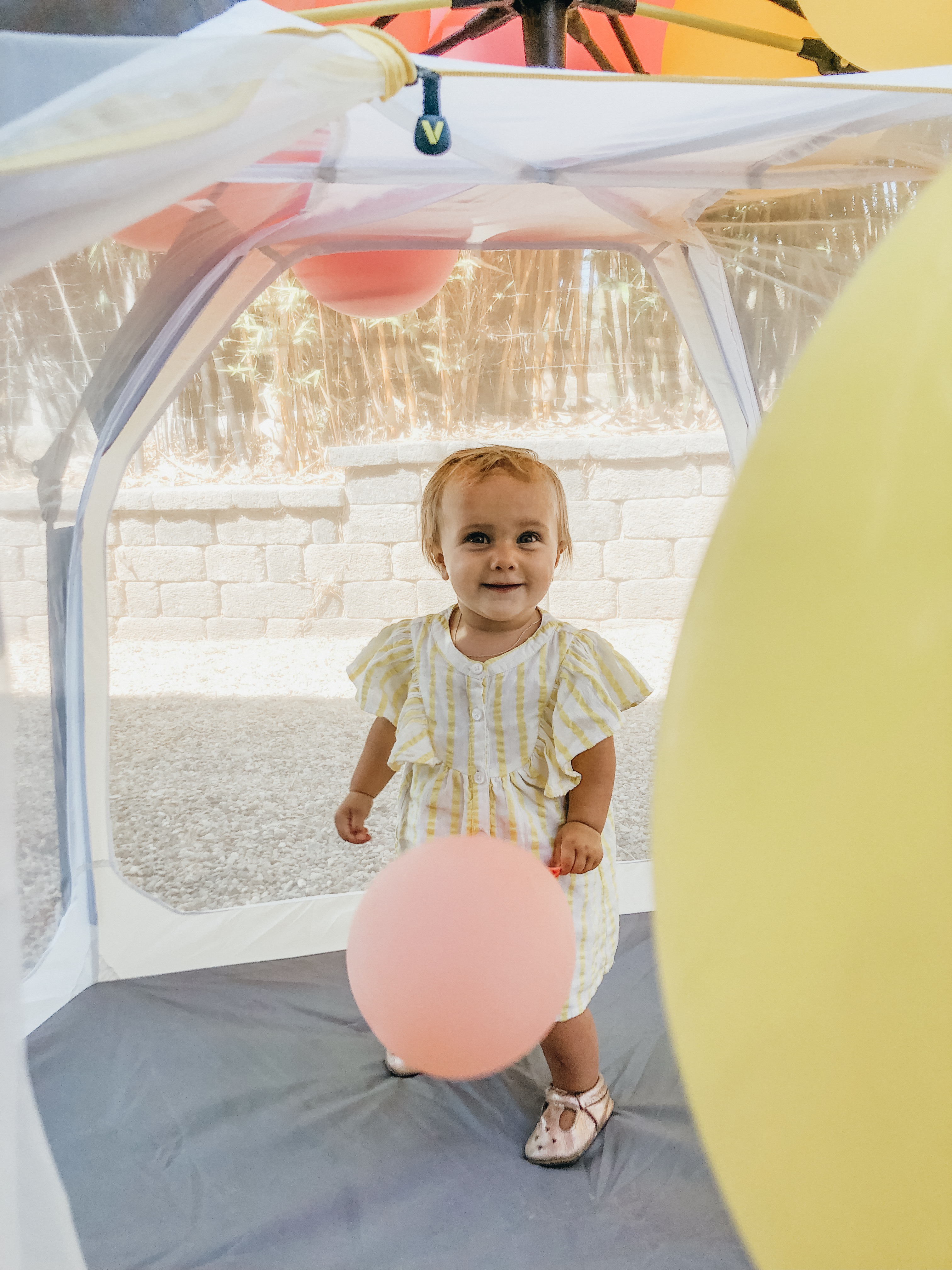 Ruby's 1st Birthday Party + How I Merged 3 Themes