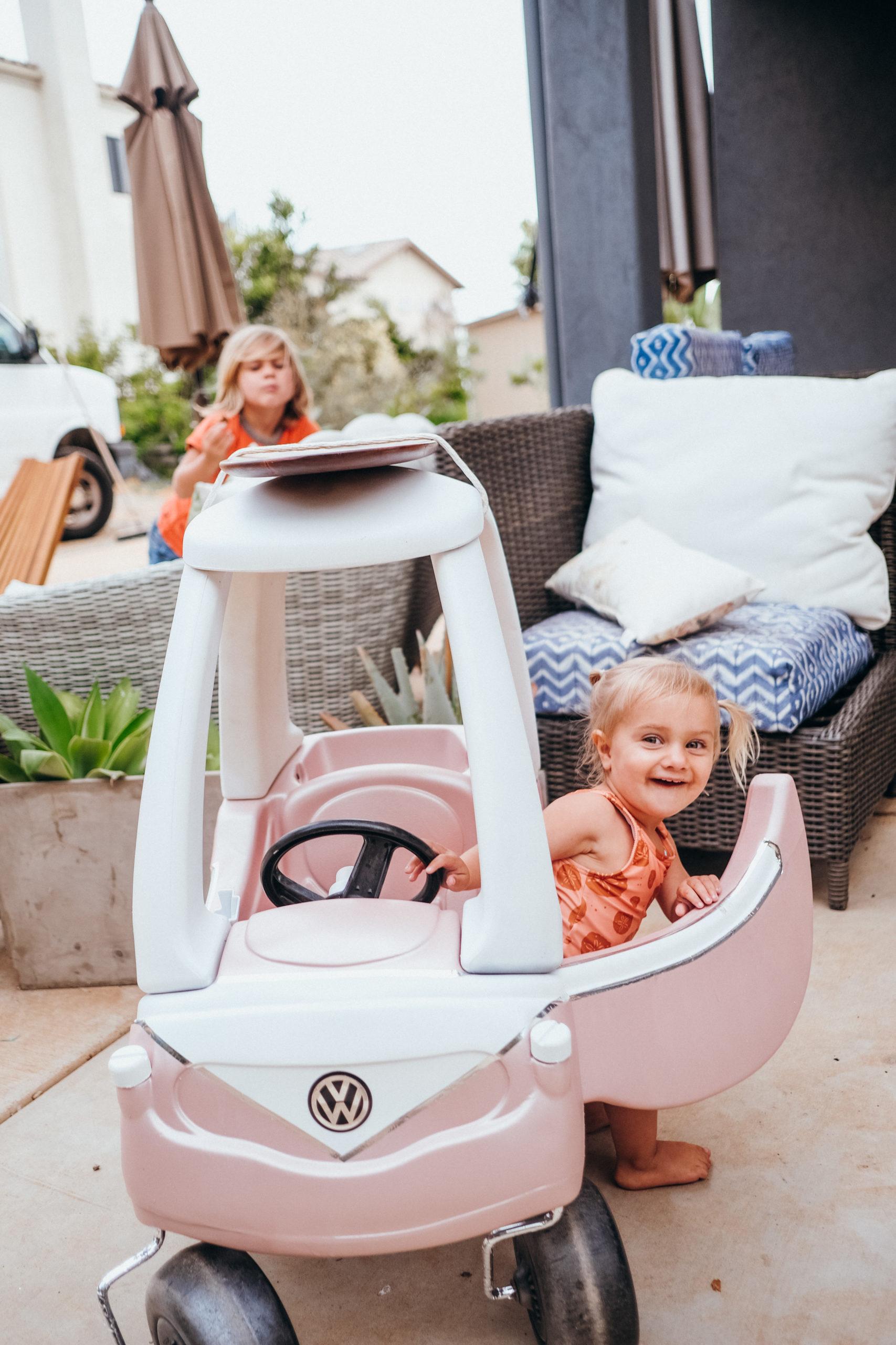 Cozy Coupe VW DIY