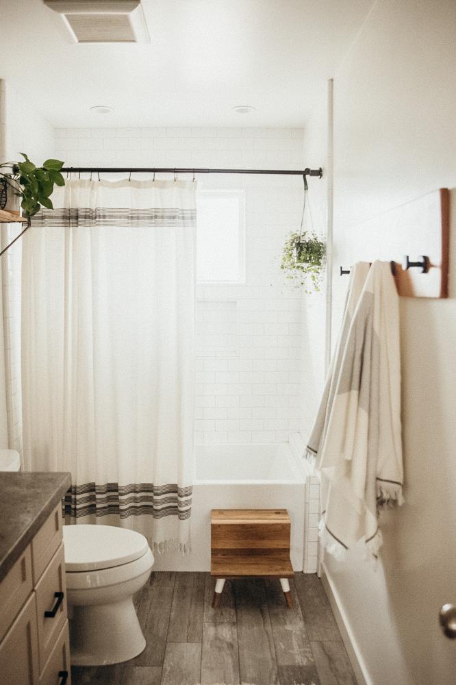 Quarantine Bathroom Makeover