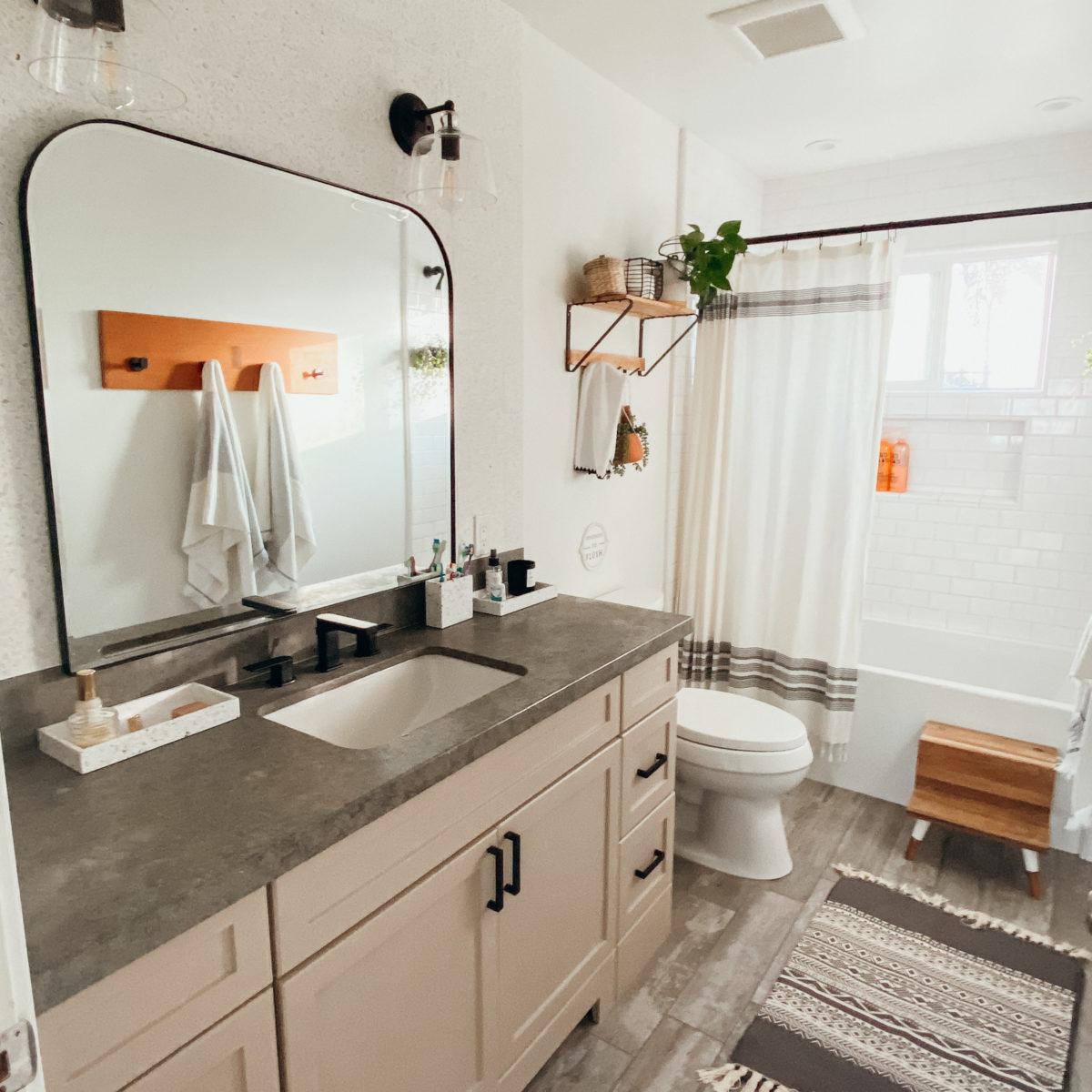 Quarantine Bathroom Makeove